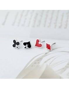 [SH05] Shinee Key Style Card Earring Ver 2