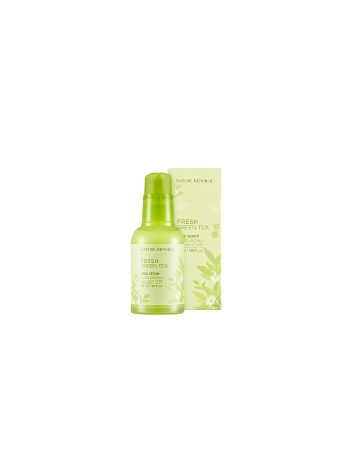 [ Nature Republic ] Fresh Green Tea Seed Serum 50ml