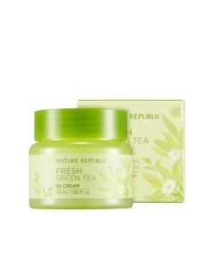 [ Nature Republic ] Fresh Green Tea 80 Cream 55ml