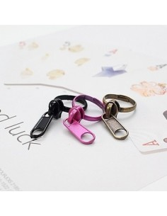 [SH45] SHINEE Key Style Color Zipper Ring