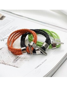 [SH59] SHINEE Style Color Sting Woven Bracelet