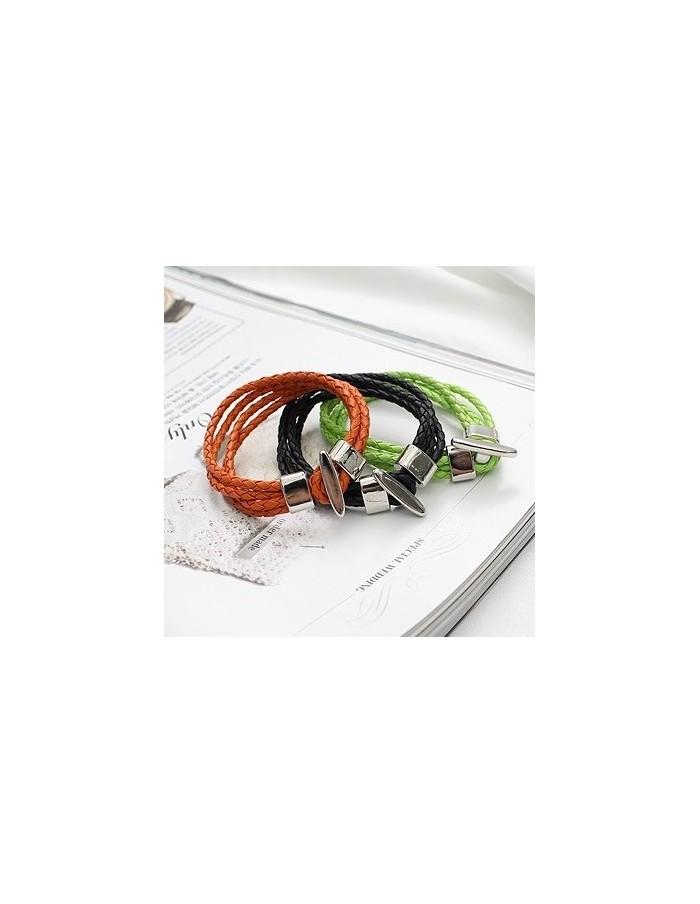 [SH59] SHINEE Style Color Sting Woven Bracelet