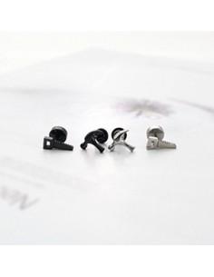 [SH68] SHINee / B1A4 Style Hammer Tool Piercing & Earring