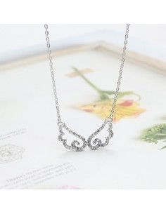 [SN02] Girls Generation Taeyeon Style Cubic Wing Necklace