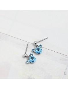 [SN09] Girls Generation Taeyeon Colorful Micky Earrings