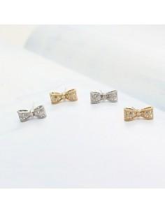 [SN13] Girls Generation SNSD Hyoyeon Sty Cubic Ribbon Earrings