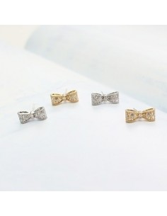 [SN13] Girls Generation SNSD Hyoyeon Sty Cubic Ribbon Earrings