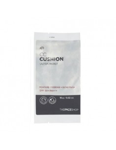 [Thefaceshop] CC Cushion : ULTRA MOIST REFILL 15g SPF50+/PA+++ (3colors)