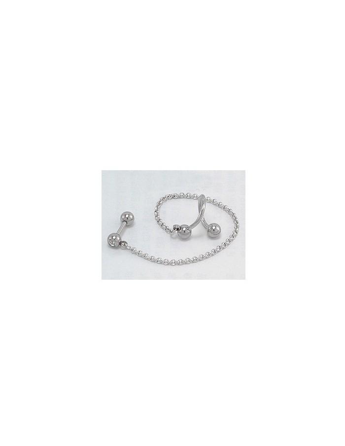 [SJ01] Super Junior Ryeowook Style Barbell Piercing