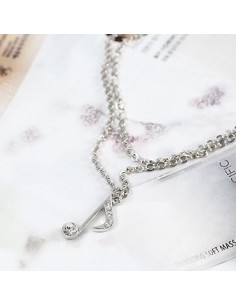 [TT06] Teen Top Style Musical Note Virus Necklace