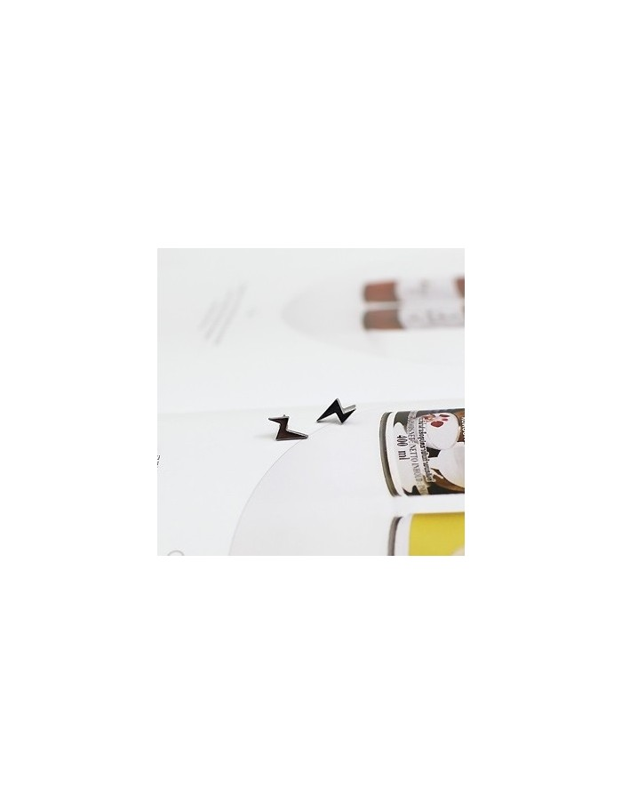 [TT15] Teentop Style Vertical Thunder Earrings & Piercing