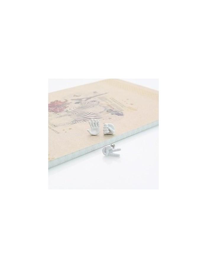 [TT21] Teentop rock-paper-scissors earring