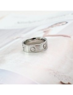 [TV31] JYJ Jejung Junsu Style Modern Simple Ring