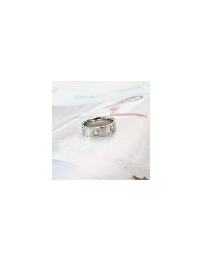 [TV31] JYJ Jejung Junsu Style Modern Simple Ring