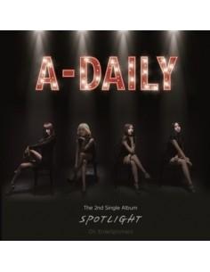 A-DAILY 2nd Single album - SPOTLIGHT CD