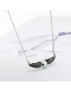 [TV43] TVXQ JYJ Hero Jejung Style Winged Heart Necklace
