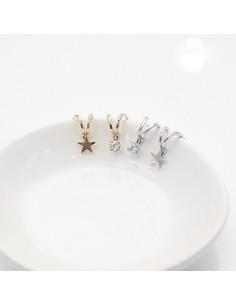 [TV56] JYJ Junsu Two Line Earring