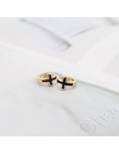 [TV62] TVXQ Style Cross One Touch Earring