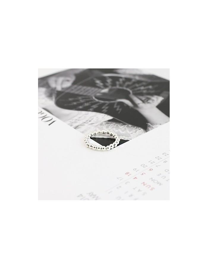 [WN01] Cream Ball Ring