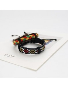 [VX20] VIXX Leather Pattern Bracelet