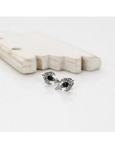 [VX21] VIXX Black Point Cross Piercing & Earring