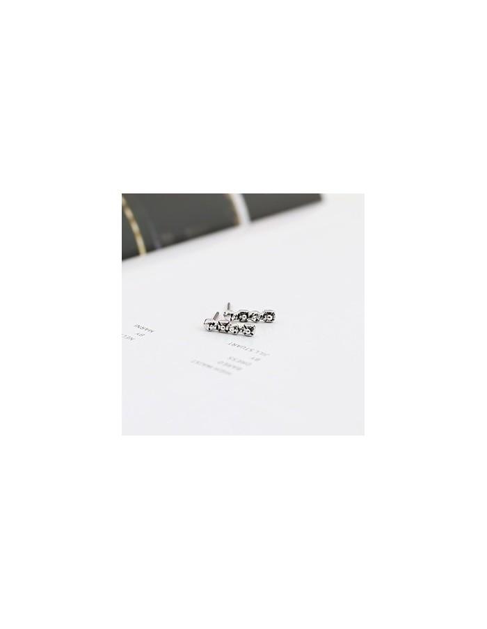 [VX45] VIXX Style Round Jjing Earring