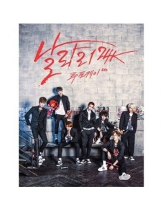 24K 4th Album - 날라리 CD + Photo Card