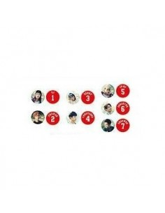 iKON Debut Concert SHOWTIME - iKON Badge Set [Pre-Order]