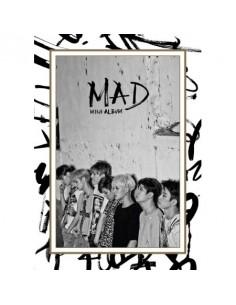GOT7 4th Mini Album - MAD (Vertical Ver.) CD + Poster