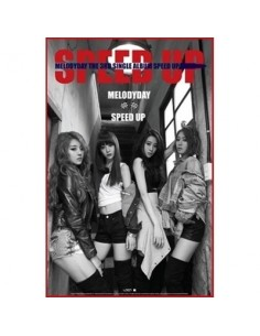 Melody Day 3rd Single Album - SPEED UP CD + Poster
