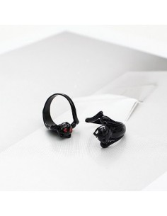 [IN13] Infinite Dong Woo Style Black Cat Ring