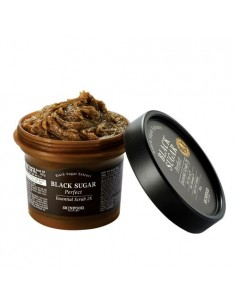 [Skin Food] Black Sugar Perfect Essential Scrub 2X