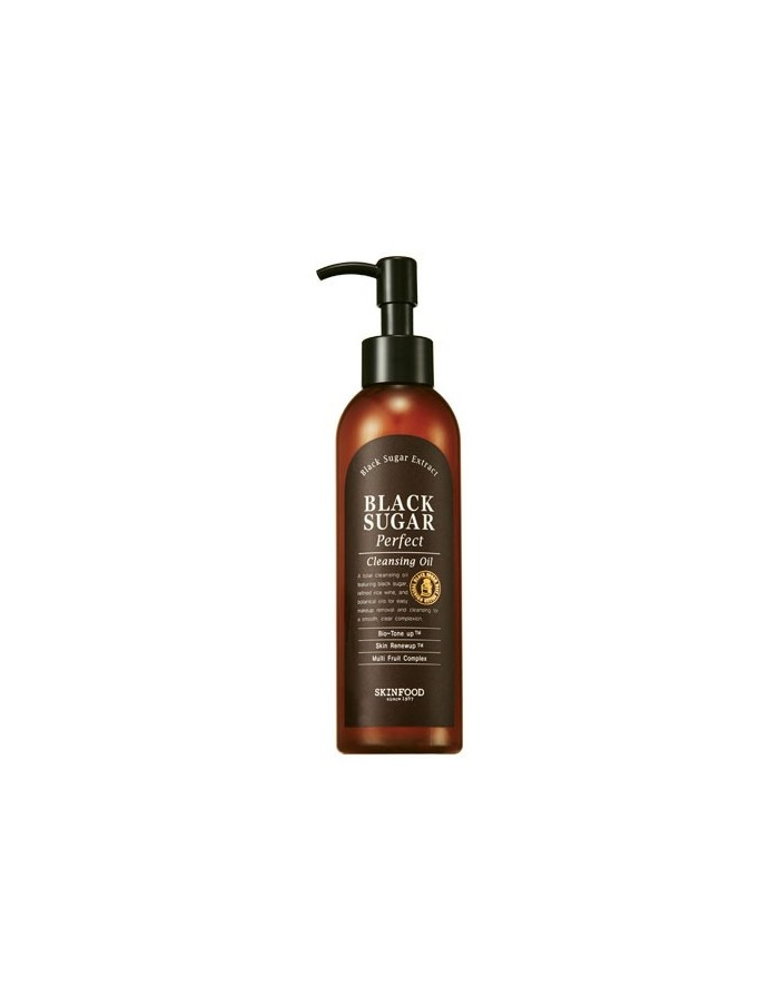 [Skin Food] Black Sugar Perfect Cleansing Oil 200ml