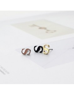 [IN21] Infinite Style S Line Earring / Piercing ( One Single)