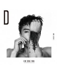 Kim Dong Wan (SHINHWA) - 1st Mini Album - D CD + Poster