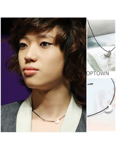 [TT09] Teentop Teen Top Style Simple Crescent Necklace