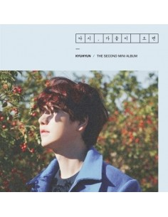 Super Junior Kyuhyun 2nd Mini Album 다시,  가을이오면 - CD + Poster