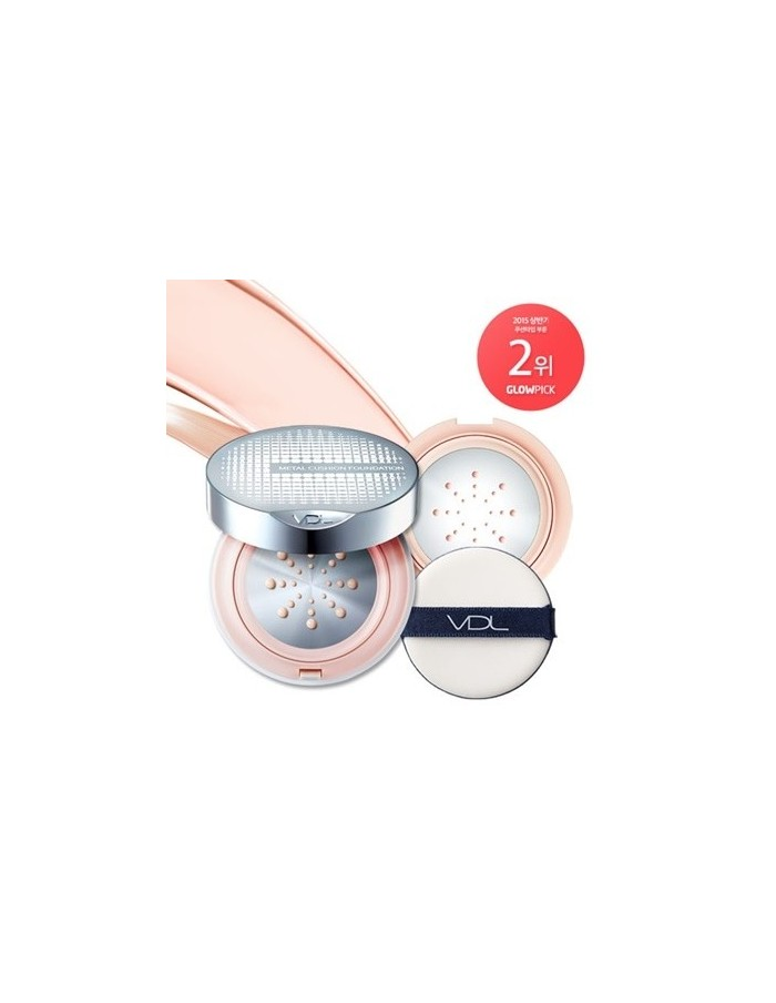 [VDL] Beauty Metal Cushion Foundation (Special Pack) 15g * 2