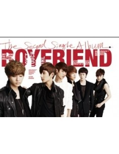 Boyfriend 2nd Single Album DON'T TOUCH MY GIRL  CD + Poster + 60 pages special photobook