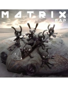 B.A.P 4th Mini Album - MATRIX CD + Poster (Normal Version)