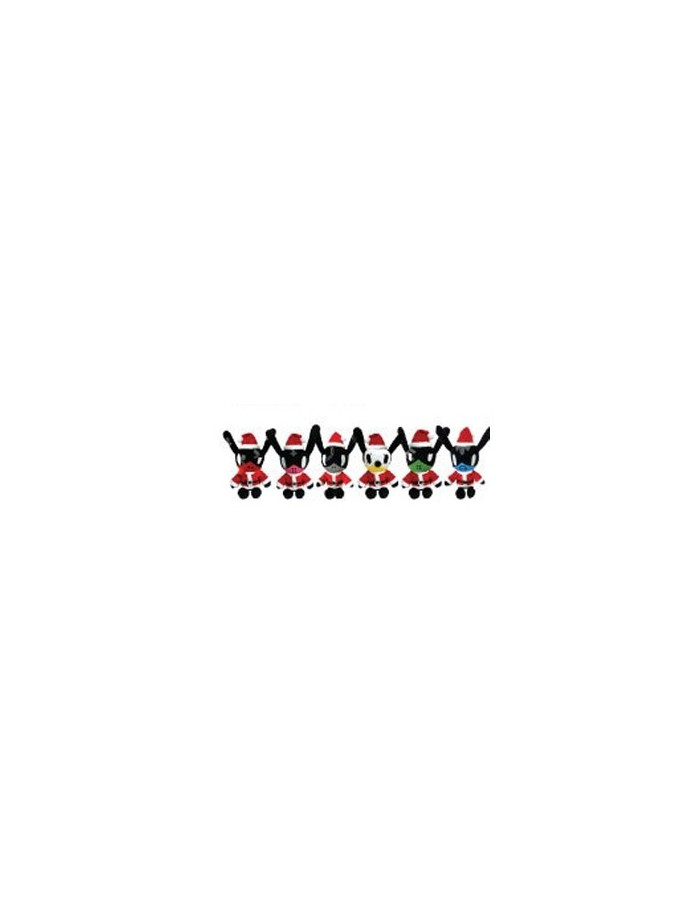 BAP B.A.P 4th Mini Album MATRIX Showcase Official Goods : MATOKI Santa Doll (6Kinds)