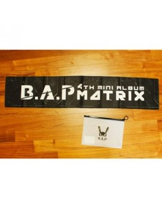 BAP B.A.P 4th Mini Album MATRIX Showcase Official Goods : MATRIX Slogan