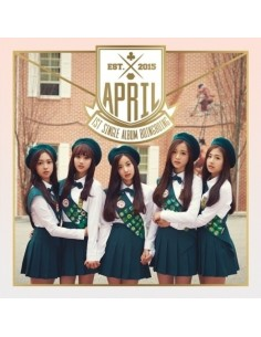 APRIL 1st Single Album - BOING BOING CD+ Poster