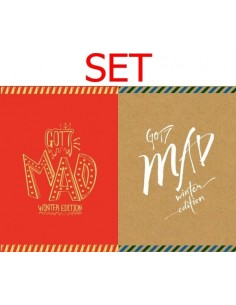 [SET] GOT7 repackage - MAD Winter Edition (Merry + Happy Ver.)