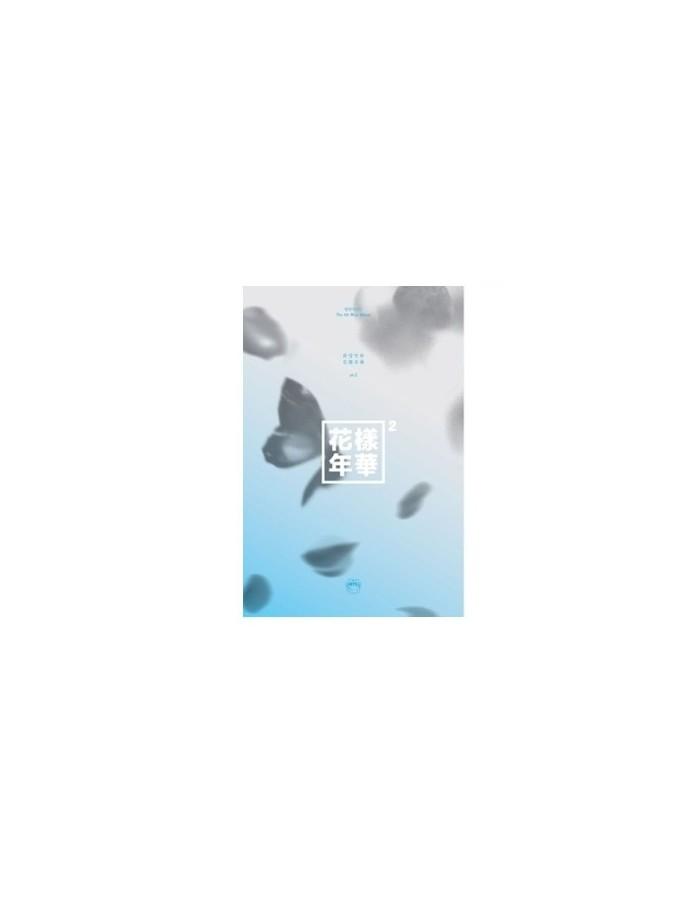 BTS 4th Mini Album 화양연화 pt.2 CD + POSTER - BLUE Version