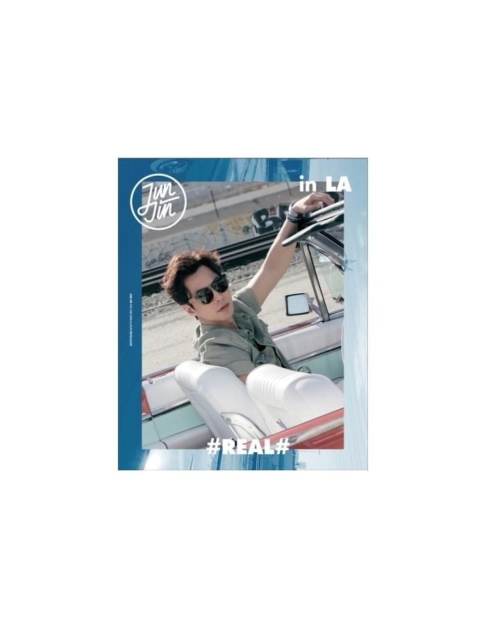 JUNJIN 2nd Mini Repackage - [ REAL in LA ] CD + DVD