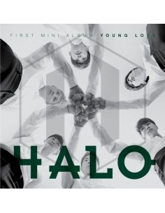 HALO 1st mini album - Young Love CD  + Poster