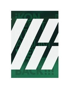 [GREEN] iKON Debut Full Album - WELCOME BACK CD + Poster