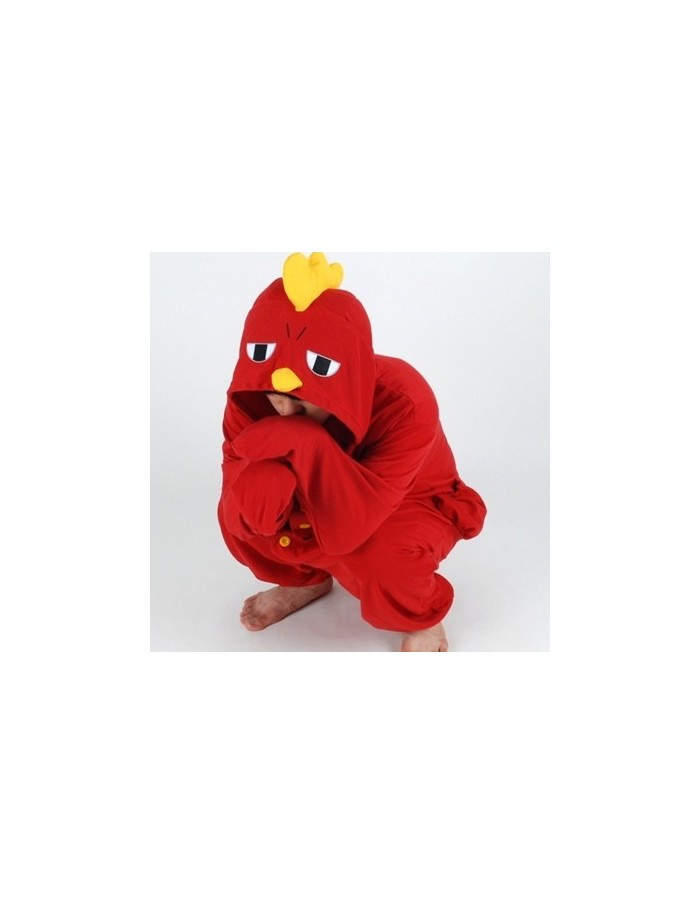 [PJB221] Animal Pajamas - Red Chicken