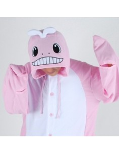[PJB222] Animal Pajamas - Pink Whale